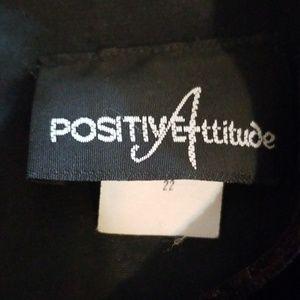 Positive Attitude Dresses - Ladies plus size Velour Vintage Dress